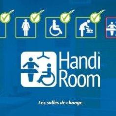 Qu'est-ce qu'une salle de change Handiroom ?