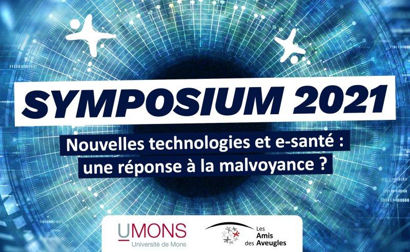 Les Amis des Aveugles et l'Université de Mons organisent un Symposium !