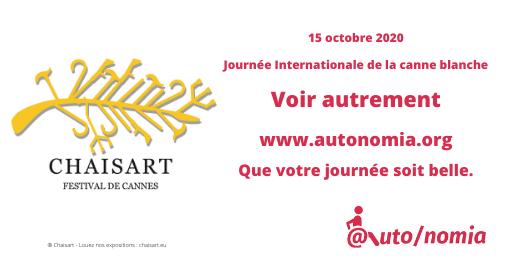 15 octobre 2020 - Journée Internationale de la canne blanche