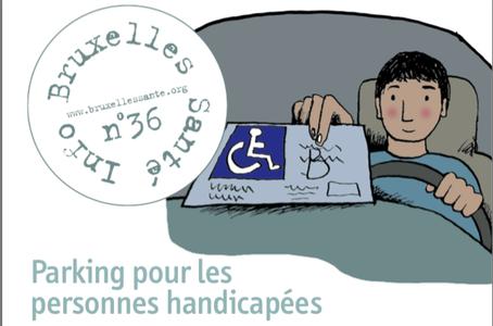 Bruxelles Santé Info n°36 : Parking pour les personnes handicapées