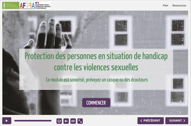 Violences sexuelles & handicap