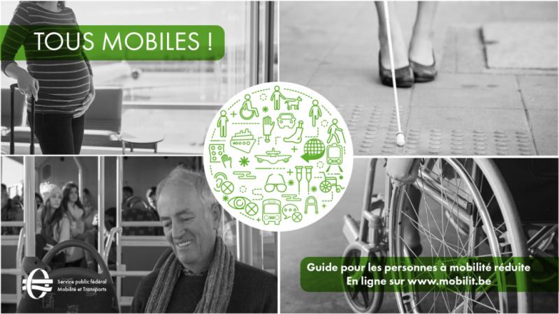 Le SPF Mobilité et Transport lance un guide interactif pour les personnes à mobilité réduite
