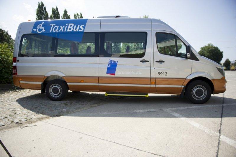 Les taxibus de la STIB enfin en service 7/7 !