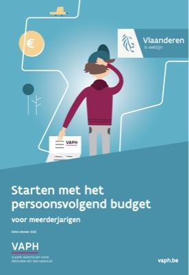 VAPH nouvelle brochure sur le budget personnalisé.