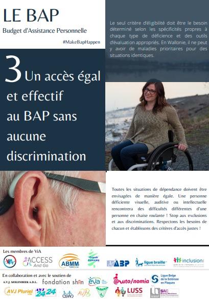 Le BAP : le mémorandum #MakeBapHappen
