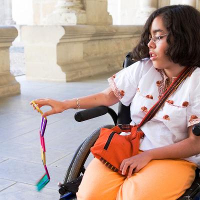 Nîmes : Une nouvelle signalétique pour les personnes en situation de handicap