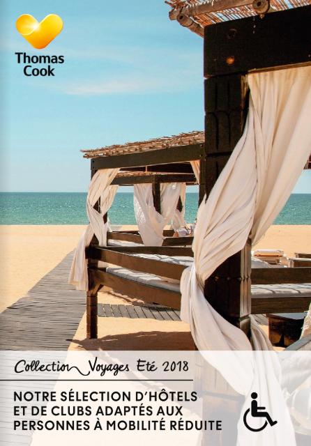 Brochure PMR chez Thomas Cook