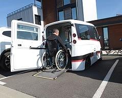 Kimsi, la petite voiture pour personnes handicapées