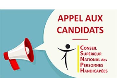 Appel aux candidats désireux de devenir membres du CSNPH