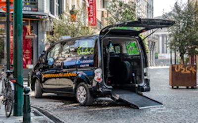Le compteur s'arrête à 15 euros dans nos taxis PMR en juillet