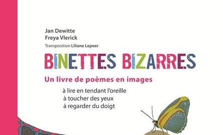 Le livre Binettes Bizarres pour les enfants aveugles et malvoyants