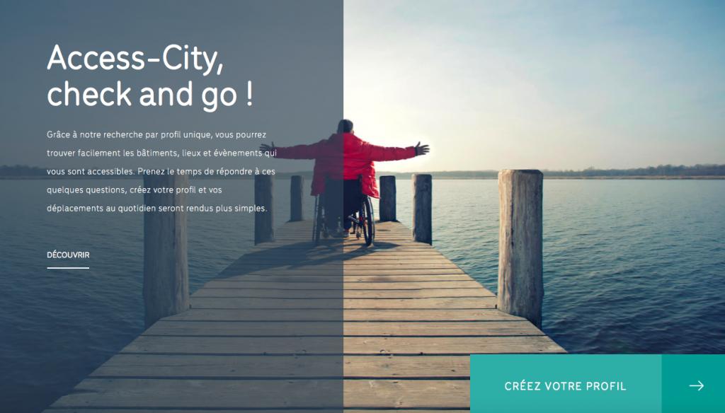 Lancement du nouveau site: Access-city.be