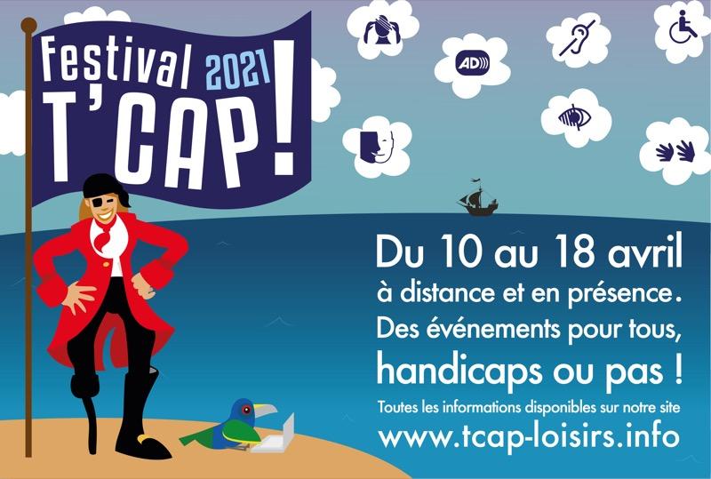 Le Festival T'Cap est maintenu.