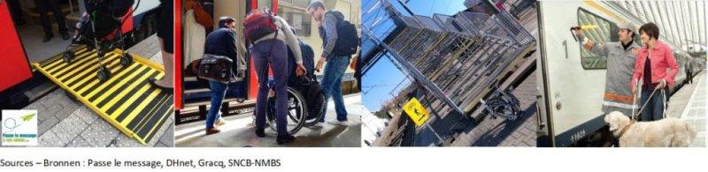 Ensemble pour une meilleure accessibilité de la SNCB : le CAWaB a rencontré la Direction de la SNCB
