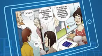 Une BD interactive sur l'accessibilité numérique