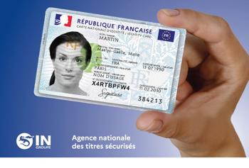 La carte d'identité française se modernise