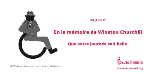 En la mémoire de Winston Churchill