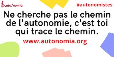 Traçons le chemin de l'autonomie tous ensemble ; Devenez Autonomistes !
