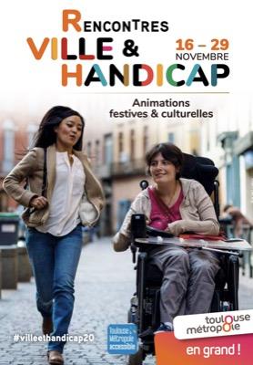 Toulouse : Les Rencontres Ville & Handicap, édition 2020