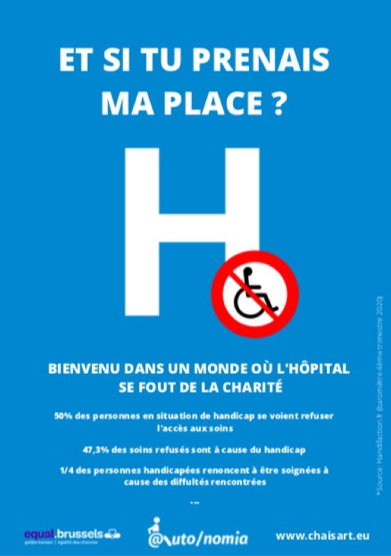 Et si tu prenais ma place ? Dans un monde où l'hôpital se fout de la charité !