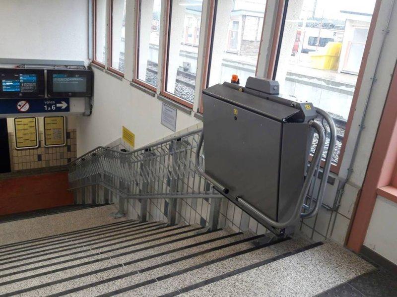 Les gares d'Arlon et de Libramont testent un nouveau système d'accessibilité