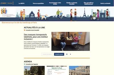 Le site du handicap de Paris