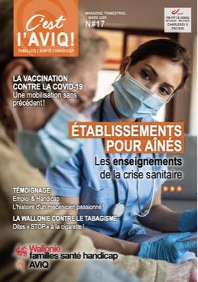 """Le 17ième numéro du magazine """"C'est l'AVIQ! """" est disponible !"""