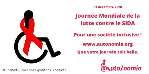 01 décembre 2020 - journée Mondiale de la lutte contre le SIDA