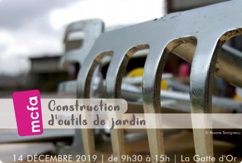 Construction d'outils de jardin