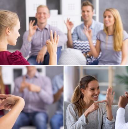 Nouveau à Mons: Formation intensive en langue des signes