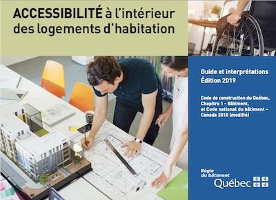 Guide sur l'accessibilité à l'intérieur des logements d'habitation