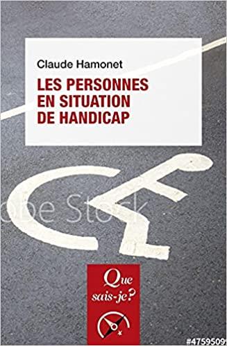Les Personnes en situation de handicap de Claude Hamonet