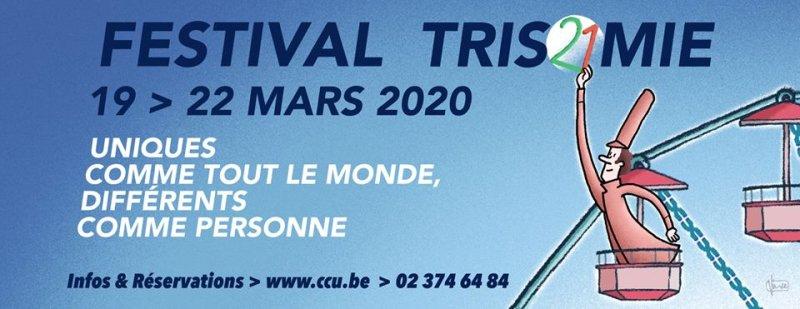 1er festival de la Trisomie 21 en mars!
