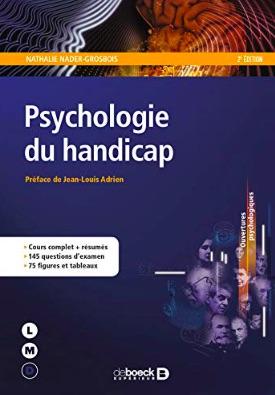 Psychologie du handicap de Nathalie Nader-Grosbois