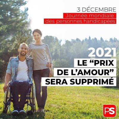 """Le """"prix de l'amour"""" disparaîtra en 2021. Merci Karine Lalieux"""