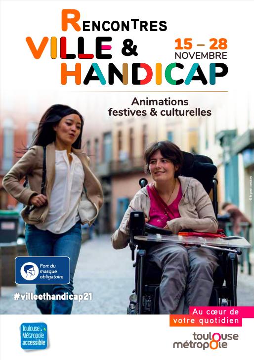 11èmes rencontres Ville et Handicap à Toulouse